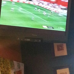 Photo taken at El Patio Argentine Café by Miluska G. on 6/2/2013