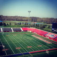 Photo taken at Kenneth P. LaValle Stadium by Vilyana K. on 4/24/2013