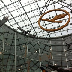 Photo taken at Concourse A by Sergey G. on 10/30/2012