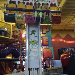 Photo taken at Family Fun Center by Berit E. on 6/22/2014