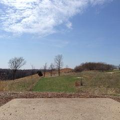 Photo taken at Bryant Lake Disc Golf Course by Jon W. on 4/20/2014