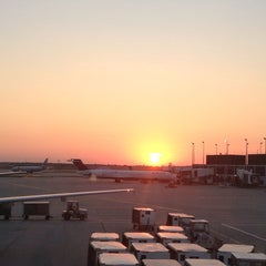 Photo taken at Concourse F by Carrie S. on 9/7/2013