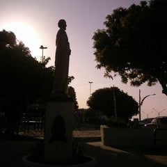 Photo taken at Praça do Pescador by Rodrigo R. on 1/3/2014