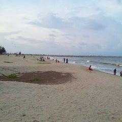 Photo taken at Pantai Batu Buruk by Khairani M. on 10/18/2013