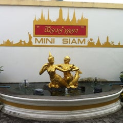 Photo taken at เมืองจำลอง (Mini Siam) by Vladimir Z. on 11/20/2012