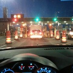 Photo taken at U.S./Canada border - Champlain-St. Bernard de Lacolle Crossing by James L. on 4/7/2013