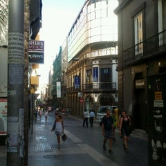 Photo taken at Calle Castillo by Alfonso H. on 9/14/2012