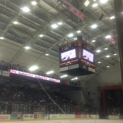 Photo taken at The Oncenter War Memorial Arena by Kelly G. on 6/8/2013