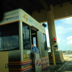 Photo taken at Toll Plaza by Kerry M. on 2/23/2014