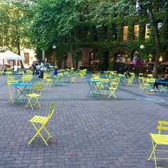 Photo taken at Pioneer Square by Kerry M. on 7/21/2015