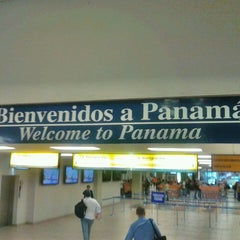Photo taken at Aeropuerto Internacional de Tocumen (PTY) by Selegna D. on 3/15/2013