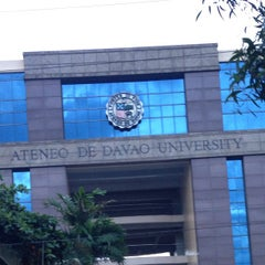 Photo taken at Ateneo de Davao University by Tina A. on 8/14/2013