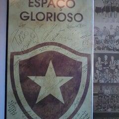 Photo taken at Botafogo de Futebol e Regatas by Carlos Eduardo B. on 4/24/2013