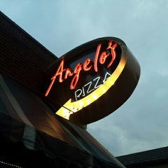 Photo taken at Angelo's Pizza by David F. on 9/22/2012