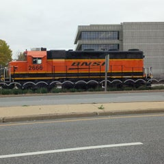 Photo taken at BNSF ROCK ISLAND DEPOT by Chuck G. on 10/18/2013