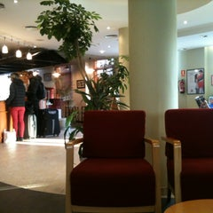 Photo taken at Ibis Hotel Sevilla by Silvia V. on 12/13/2012