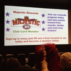 Photo taken at Majestic 10 by Everett R. on 10/13/2012