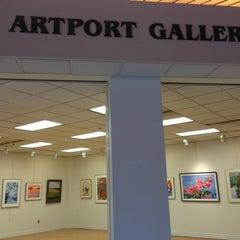 Photo taken at Artport Gallery by Ariel P. on 8/2/2013