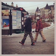 Photo taken at Station Mont Tremblant Resort by Andrew J. on 12/19/2012