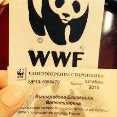 Photo taken at Всемирный фонд природы (WWF) by Катерина В. on 11/28/2013