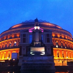 Photo taken at Royal Albert Hall by Mona A. on 12/31/2012