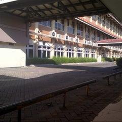 Photo taken at BINUS University by Fiqki A. on 6/9/2013