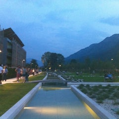 Photo taken at Palazzo delle Albere by Arianna F. on 7/8/2013