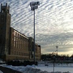 Photo taken at St. John's University by Sean C. on 2/10/2013