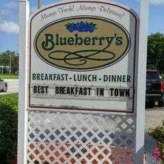 Photo taken at Blueberry's Cafe by Rachael J. on 8/31/2014