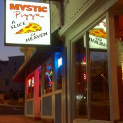 Photo taken at Mystic Pizza by Jim P. on 11/10/2012