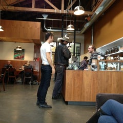 Photo taken at Ristretto Roasters by James T. on 2/12/2013