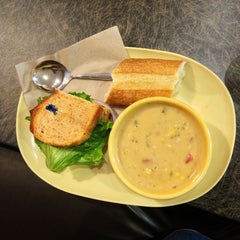 Photo taken at Panera Bread by Victoria A. on 6/1/2013