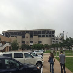 Photo taken at Kyle Field Zone Plaza by Brad H. on 6/25/2014