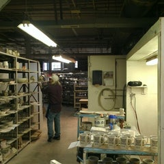 Photo taken at Louisville Stoneware by Brianne B. on 11/7/2012