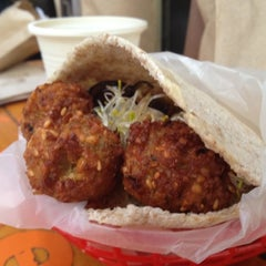Photo taken at Falafelito by Diana P. on 10/7/2012