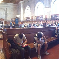 Photo taken at Rose Main Reading Room by Moira F. on 5/5/2014