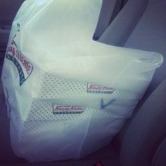 Photo taken at Krispy Kreme Doughnuts by Marcus P. on 5/19/2014