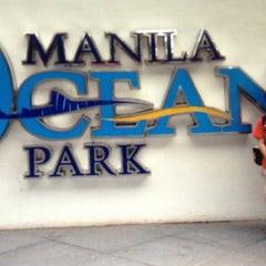 Photo taken at Manila Ocean Park by Marie Diane 🎀 on 5/11/2013