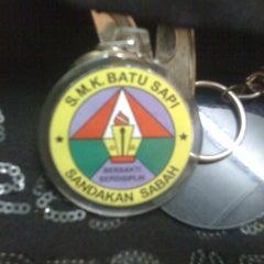 Photo taken at SMK Batu Sapi by Dimas D. on 7/29/2013