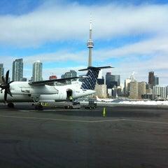 Photo taken at Billy Bishop Toronto City Airport (YTZ) by Sadie T. on 2/21/2013