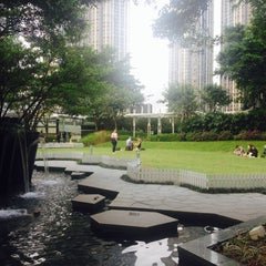 Photo taken at Civic Square 演薈廣場 by Evan S. on 4/19/2014