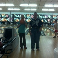 Photo taken at Buffaloe Lanes Erwin Bowling Center by Robert E. on 10/27/2012