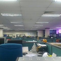 Photo taken at Wisma Celcom (MHS), PJ by Suraini O. on 10/29/2012