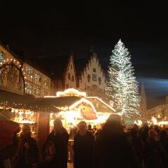 Photo taken at Weihnachtsmarkt Frankfurt by Darren C. on 12/10/2012