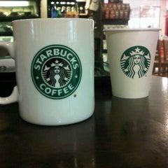 Photo taken at Starbucks by Nik Fikri on 1/19/2013