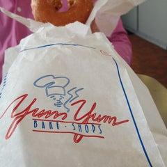 Photo taken at Yum Yum Bake Shops by ayeen c. on 12/26/2013
