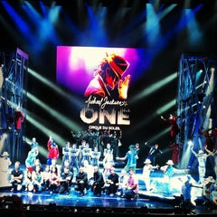Photo taken at Michael Jackson ONE Theater by Kara R. on 5/7/2013