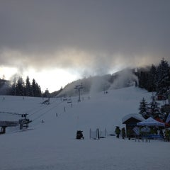 Photo taken at Whistler Village Gondola by Andrew M. on 1/14/2013