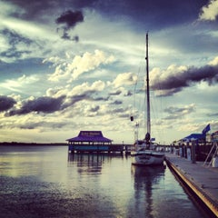 Photo taken at Inlet Harbor Restaurant, Marina & Gift Shop by Jenn V. on 10/22/2012