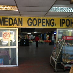 Photo taken at Medan Gopeng Bus Terminal by Denny L. on 3/4/2013